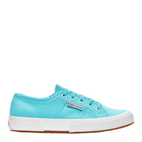 Superga Women's Turquoise Canvas Cotu 2750 Trainers