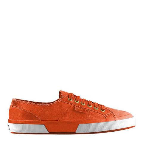 Superga Men's Orange Brick Suede 2750 Trainers