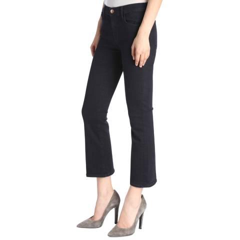 J Brand Bluebird Navy Selena Stretch Bootcut Jeans