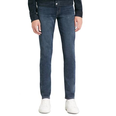 J Brand Blue Tyler Taper Stretch Jeans