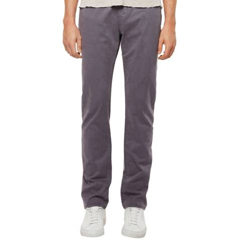 J Brand Grey Kane Straight Fit Stretch Jeans