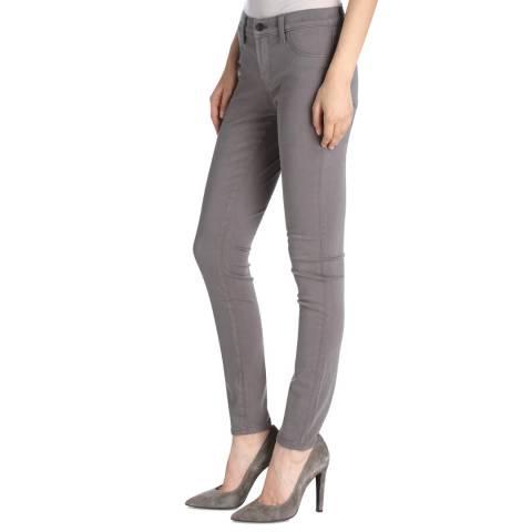 J Brand Zinc Grey 485 Skinny Stretch Jeans