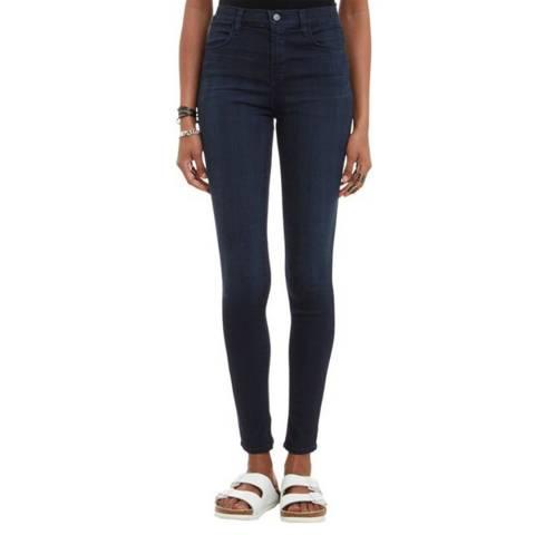 J Brand Blameless Navy 835 Capri Skinny Stretch Jeans