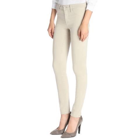 J Brand Winter Beige 485 Skinny Stretch Jeans