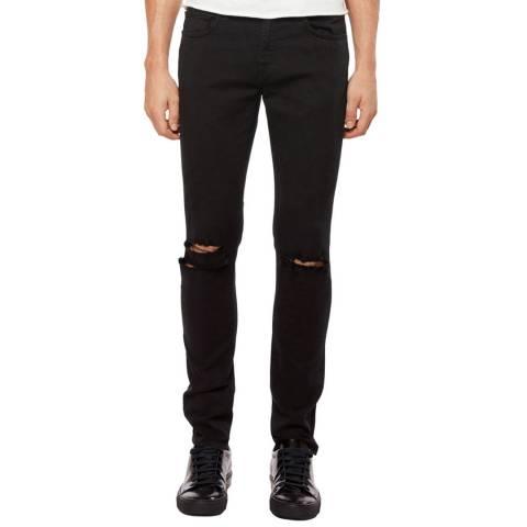 J Brand Vintage Black Mick Skinny Stretch Jeans