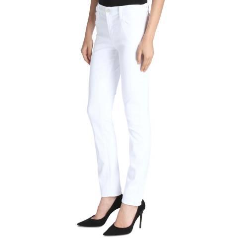 J Brand Blanc Maude Cigarette Stretch Jeans