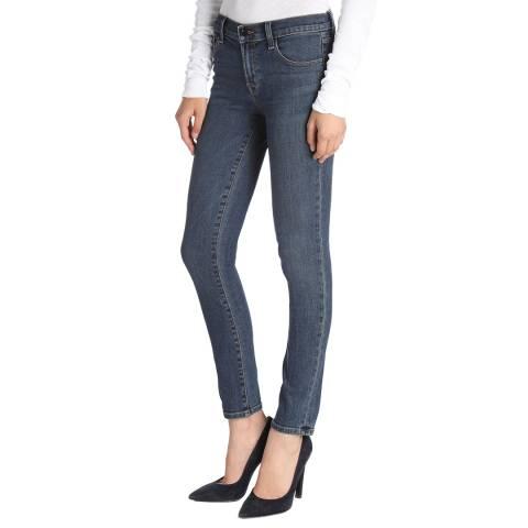 J Brand Mesmeric Blue 811 Skinny Stretch Jeans