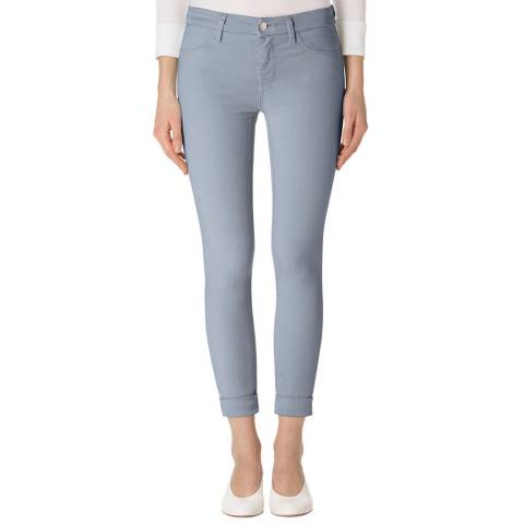 J Brand Yearling Blue Anja Cropped Skinny Stretch Jeans