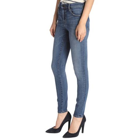 J Brand Decoy Blue Maria Stretch Skinny Jeans