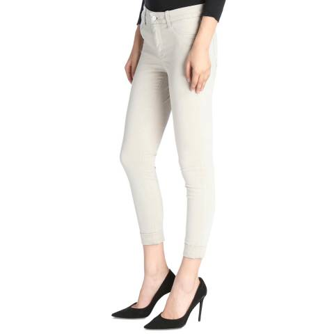 J Brand Biscuit Anja Cropped Skinny Stretch Jeans