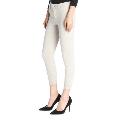 J Brand Winter Beige Anja Cropped Skinny Stretch Jeans