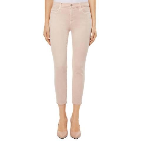 J Brand Memory Pink Alana Cropped Skinny Stretch Jeans