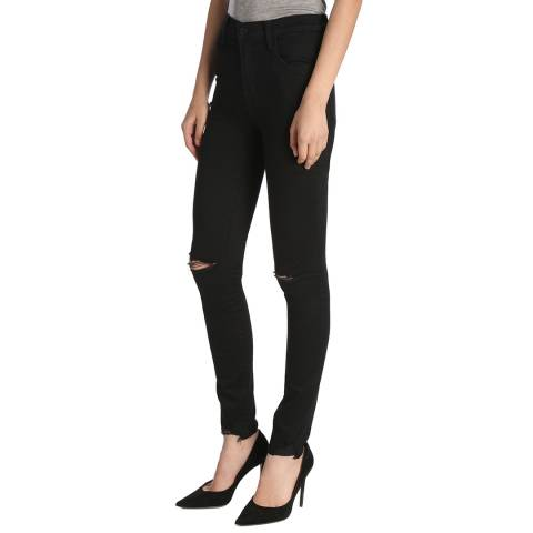 J Brand Revoke Black Maria Stretch Skinny Jeans