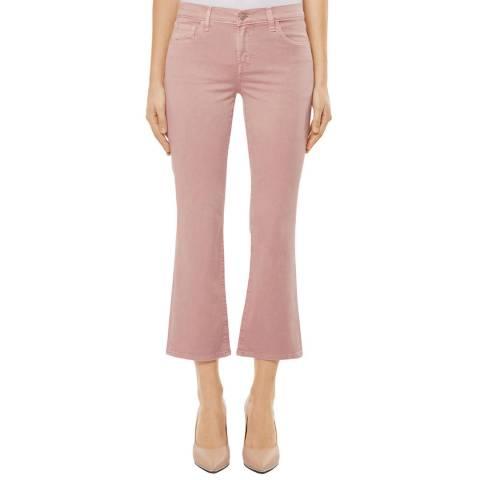 J Brand Pink Selena Stretch Bootcut Jeans