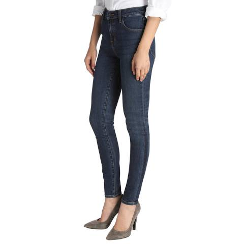 J Brand Mesmeric Blue Maria Stretch Skinny Jeans