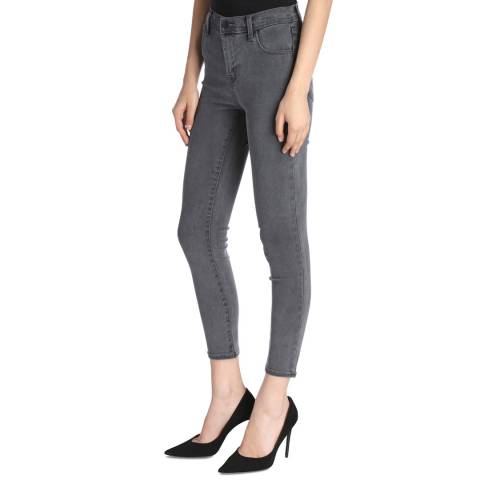 J Brand Dust Navy Alana Cropped Skinny Stretch Jeans