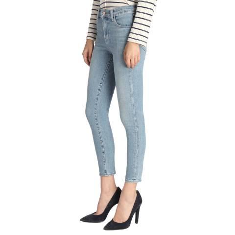 J Brand Surge Blue Alana Cropped Skinny Stretch Jeans