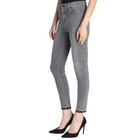 J Brand Earl Grey Alana Cropped Skinny Stretch Jeans