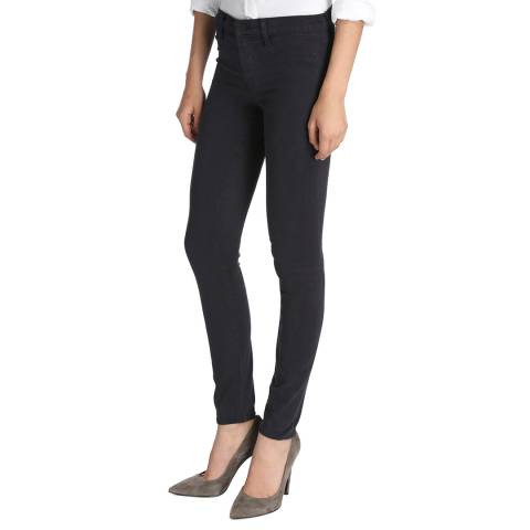 J Brand Dark Navy 485 Skinny Stretch Jeans