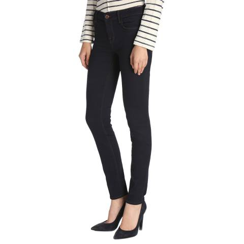 J Brand Ink Navy 811 Skinny Stretch Jeans