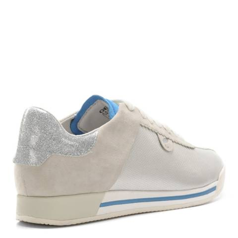 d5ff1fe8de69d Women's Ivory And Platinum Chewa Low Top Sneakers - BrandAlley