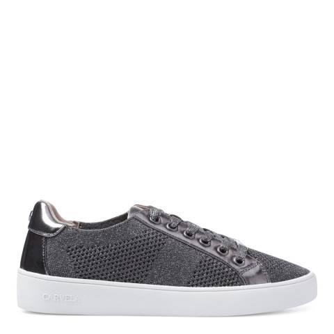Carvela Pewter Metallic Jealousy Sneakers