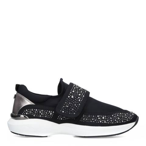 Carvela Black Jeweller Block Embellished Low Top Trainers