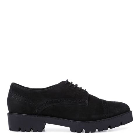 Carvela Black Melo Chunky Brogues