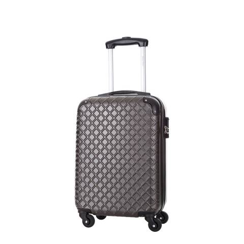 Steve Miller Grey Sailor 4 Wheeled Suitcase 46 cm