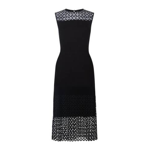 Hobbs London Black Lace Penelope Dress