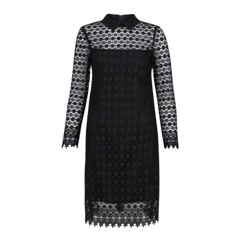 Hobbs London Dark Navy Fifi Lace Dress