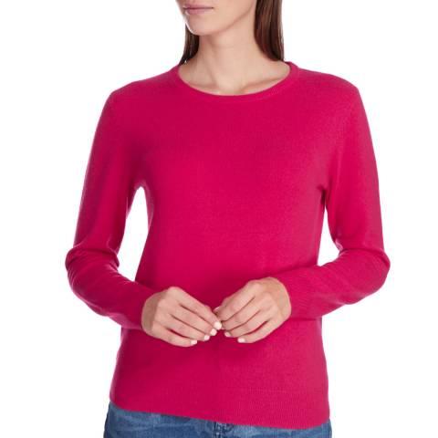 Princess of Scotland Pink Cashmere Crew Neck jumper