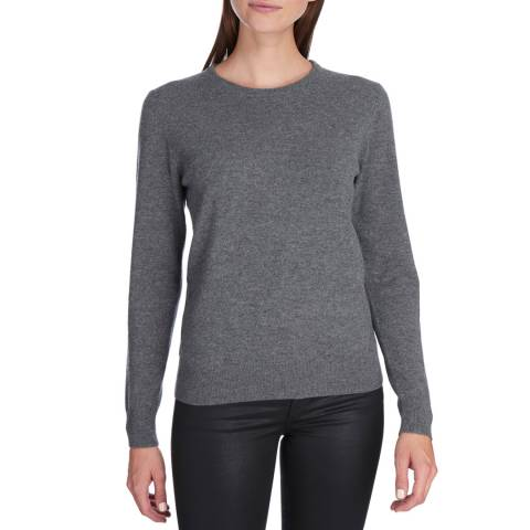 Princess of Scotland Grey Cashmere Crew Neck Jumper
