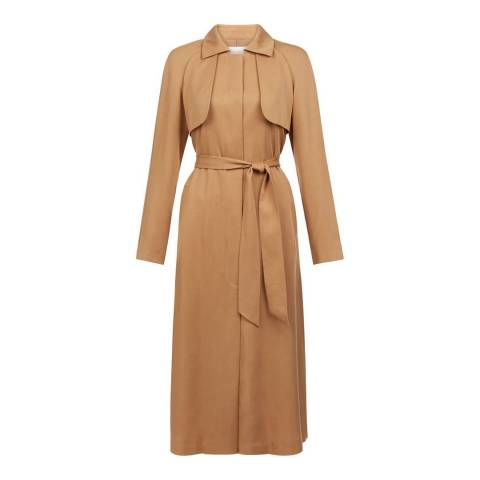 Hobbs London Camel Madison Trench Coat