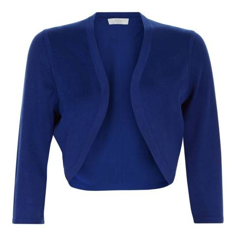 Hobbs London Oxford Blue Carrie Bolero