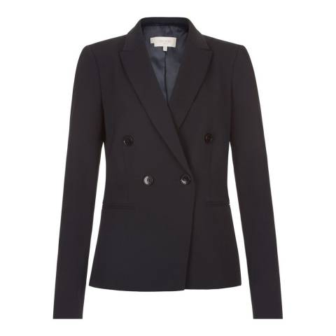Hobbs London Navy Coralyn Jacket
