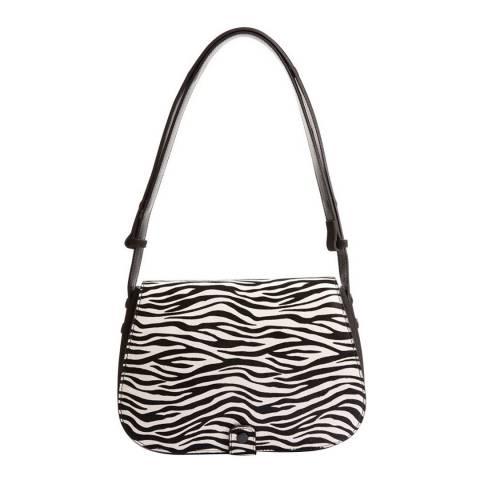 Hobbs London Zebra Print Richmond Cross Body Bag