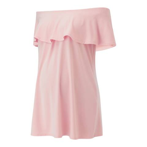 Isabella Oliver Cloud Pink Mari Maternity Top