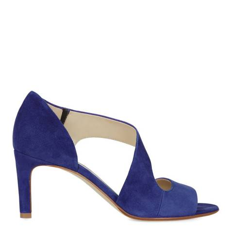 Hobbs London Blue Suede Lexi Heeled Sandals