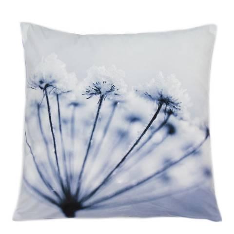 Malini Blue Silhouette Dandelion Cushion 45x45cm