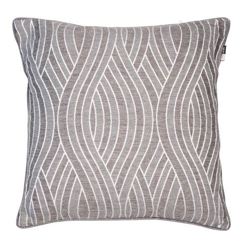 Malini Flint Jacquard Shuttle Cushion 43x43cm