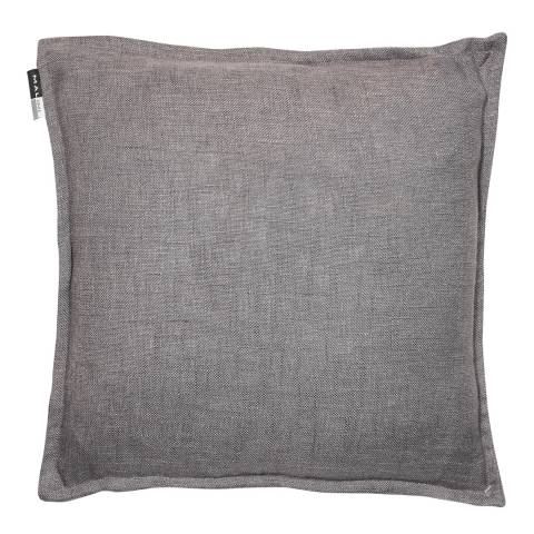 Malini Slate Cotton Cushion With Flange 45x45cm