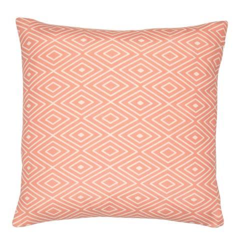 Malini Coral Aztec Cushion 45x45cm