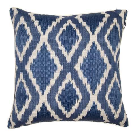 Malini Blue Woven Ikat Cushion 50x50cm