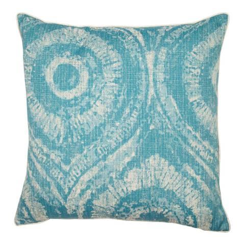 Malini Ocean Jacquard Peacock Cushion 50x50cm