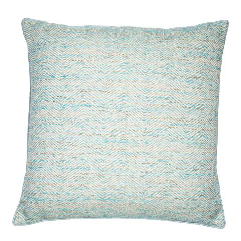 Malini Ocean Woven Slub Cushion 50x50cm