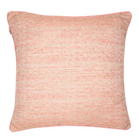 Malini Rosewood Woven Slub Cushion 50x50cm