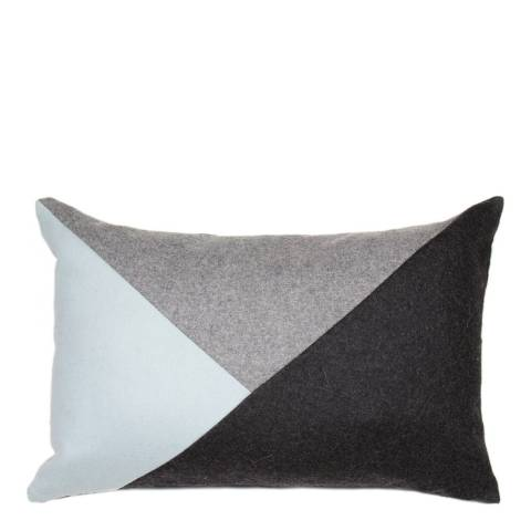 Malini Ocean Applique Triangles Cushion 30x45cm