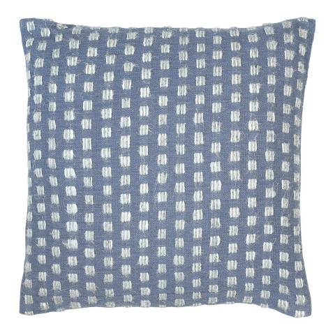 Malini Blue Squares Cushion 45x45cm