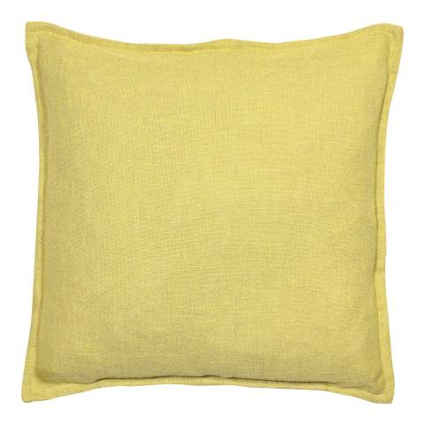 Malini Mustard Cotton Cushion with Flange 45x45cm